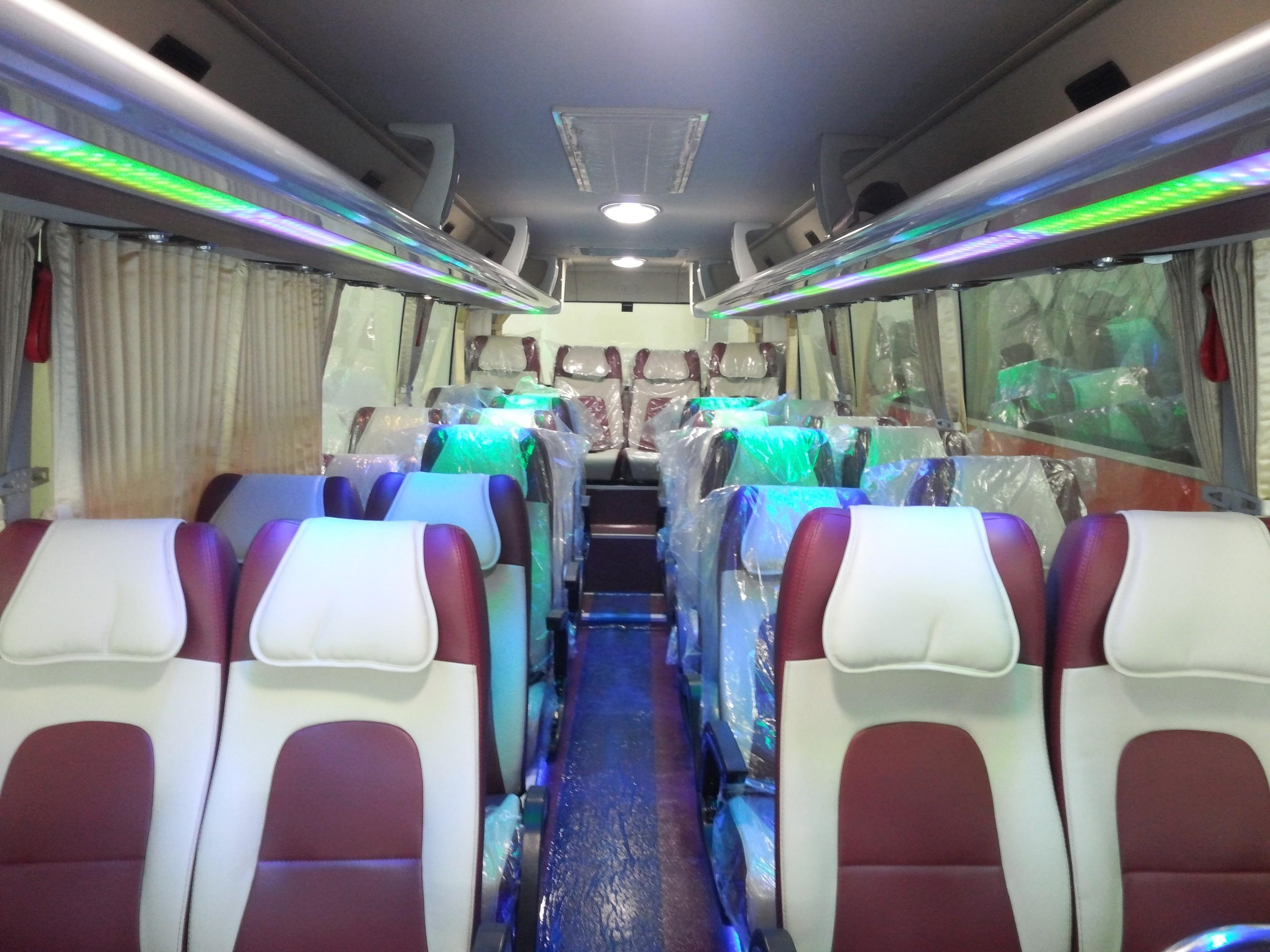 Thuê xe 29 chỗ Phi Loan đi KDL Bình Châu tại TPHCM