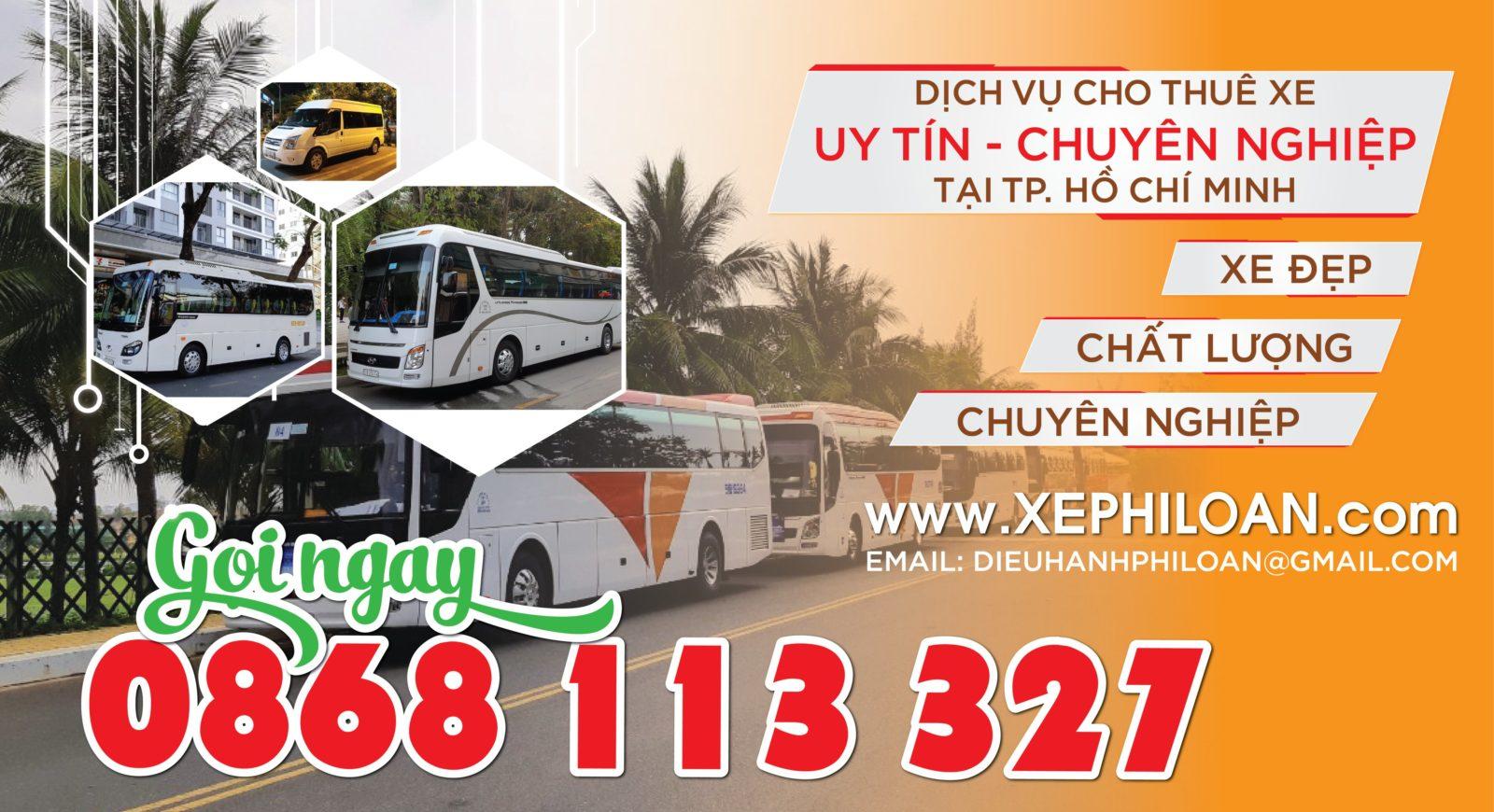 Thuê xe 29 chỗ tại quận 2 đi Phan Thiết Mũi Né