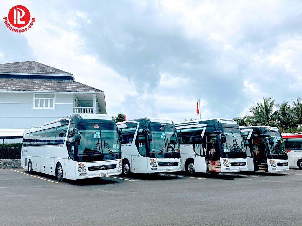 Phi Loan Car Hyundai Universe 45 chỗ phục vụ event tại Sealink City Phan Thiết
