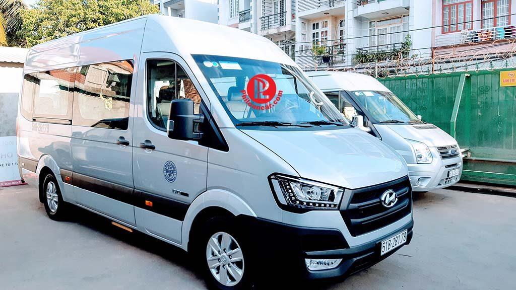 Thuê xe 16 chỗ cao cấp Hyundai Solati