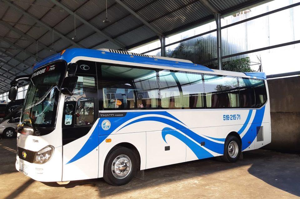 Thuê xe 29 chỗ đi Châu Đốc tại TPHCM