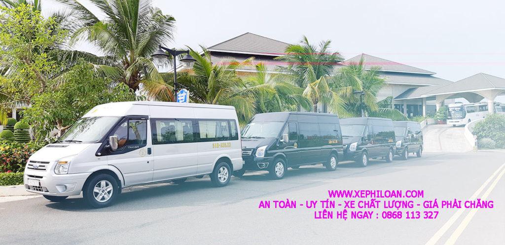 Đoàn xe phục vụ event tại SeaLink Phan Thiết