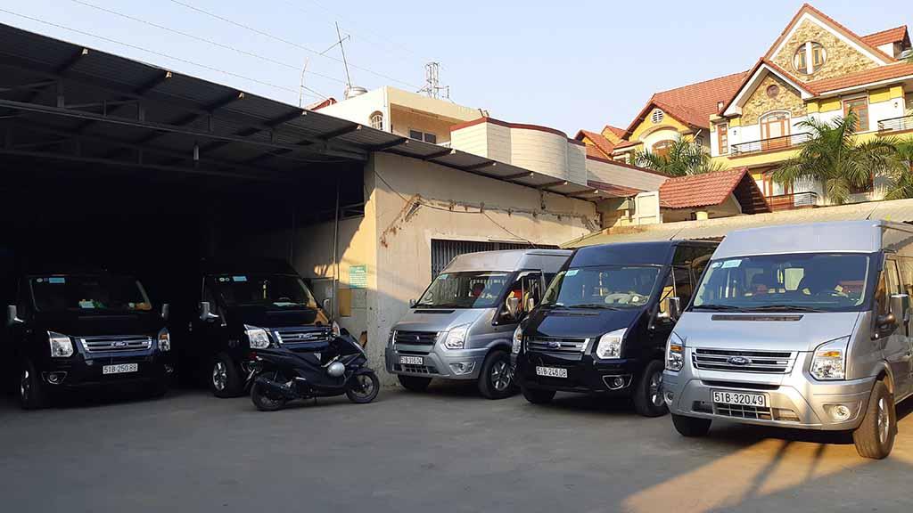 Hệ thống xe lớn - dàn trải đều các quận TPHCM