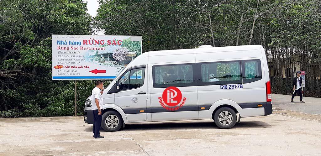 Thuê xe du lịch 16 chỗ đi Đảo Khỉ - biển Cần Giờ giá tốt