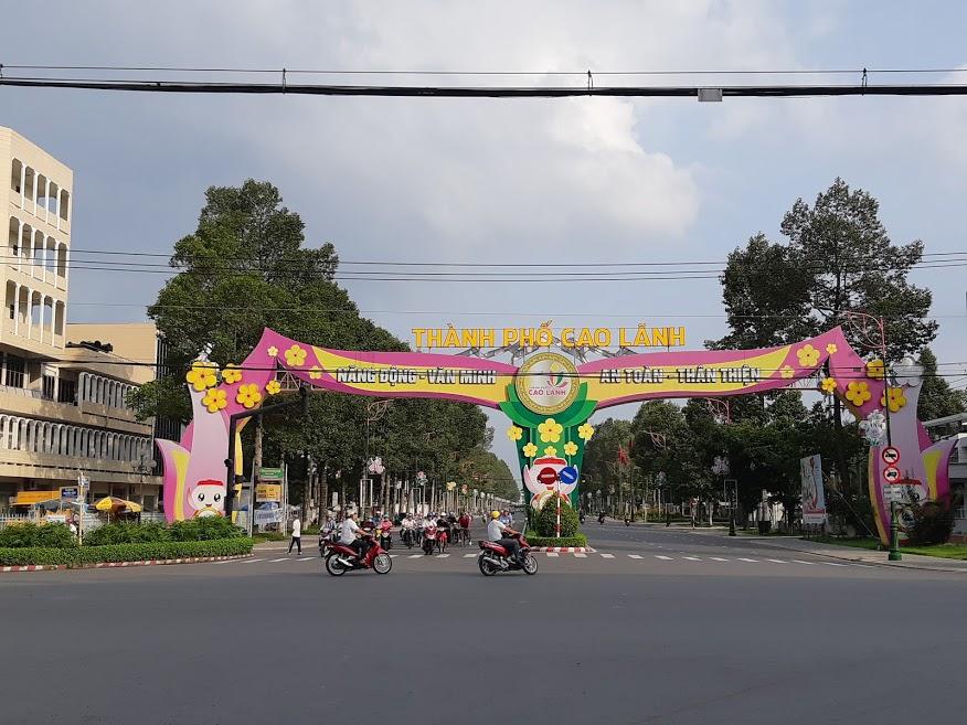 Thành Phố Cao Lãnh tỉnh Đồng Tháp