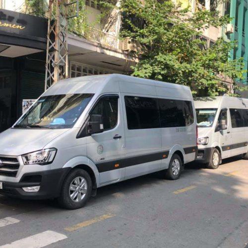 Thuê xe 16 chỗ Hyundai Solati đi Đà Lạt