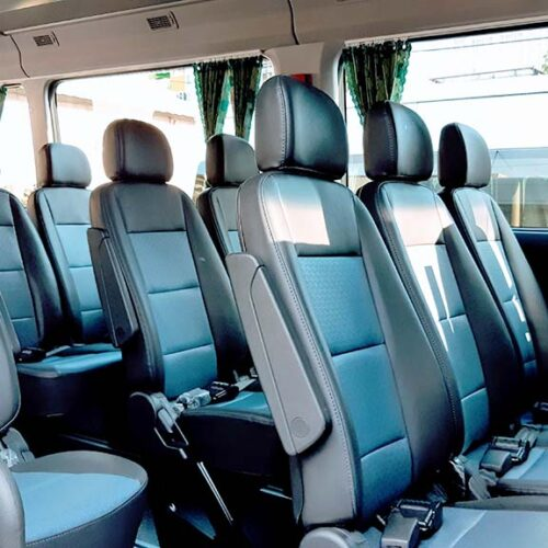 Nội thất xe 16 chỗ Hyundai Solati