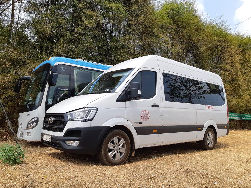 Thuê xe 16-29 chỗ đi Buôn Ma Thuột tại TPHCM