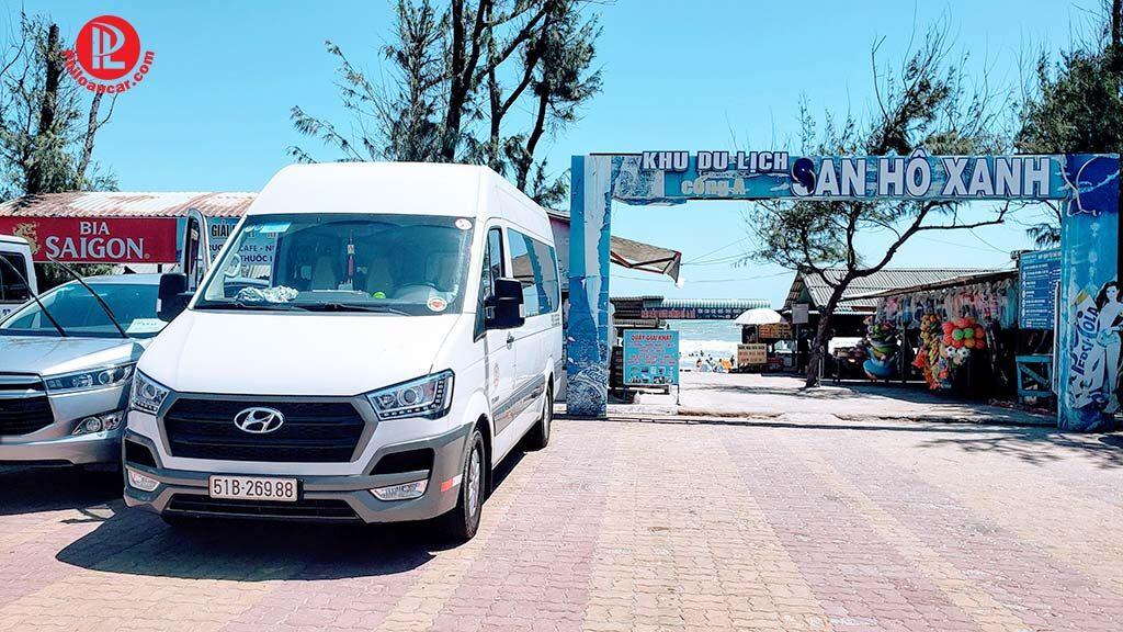 Thuê xe 16 chỗ đời mới đi Vũng Tàu tại TPHCM