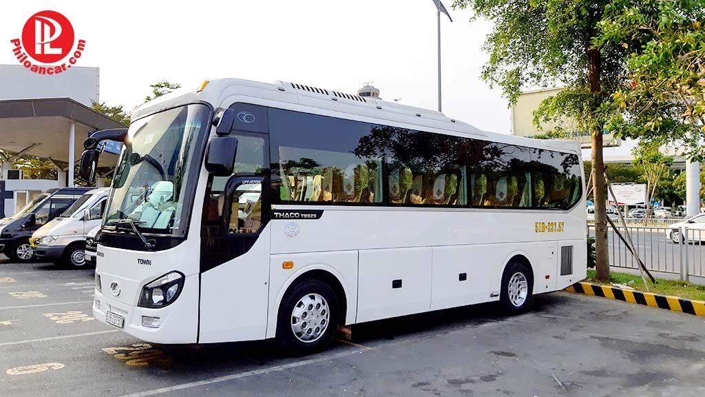 Thuê xe 29 chỗ đón tiễn sân bay Tân Sơn Nhất