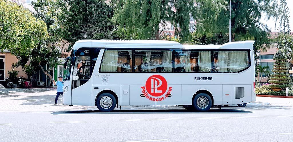 Thuê xe 29 chỗ cao cấp đời mới nhất tại TPHCM đi Vũng Tàu
