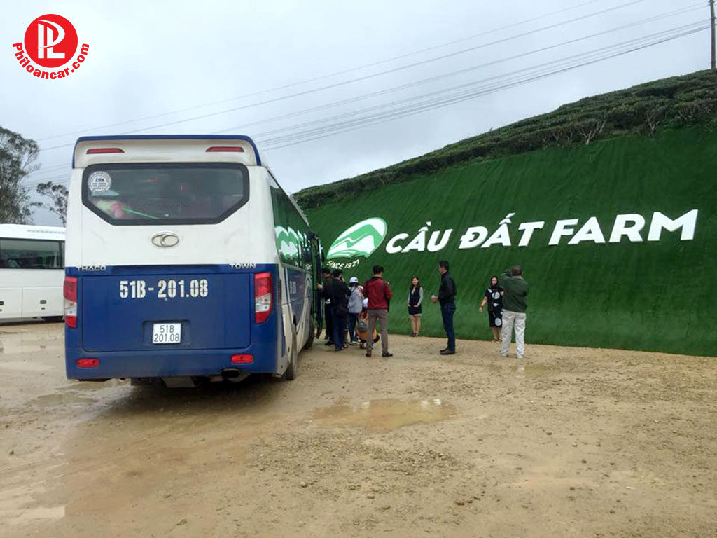 Thuê xe 29 chỗ tại TPHCM đi Đà Lạt