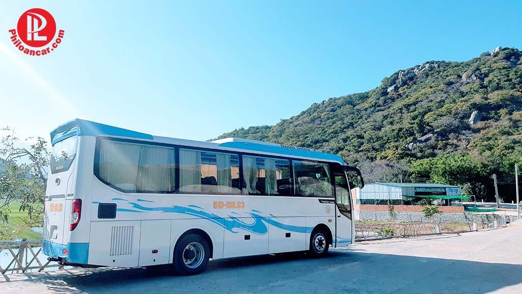 Thuê xe 29 chỗ cao cấp tại TPHCM đi tour Vĩnh Hy Phan Rang
