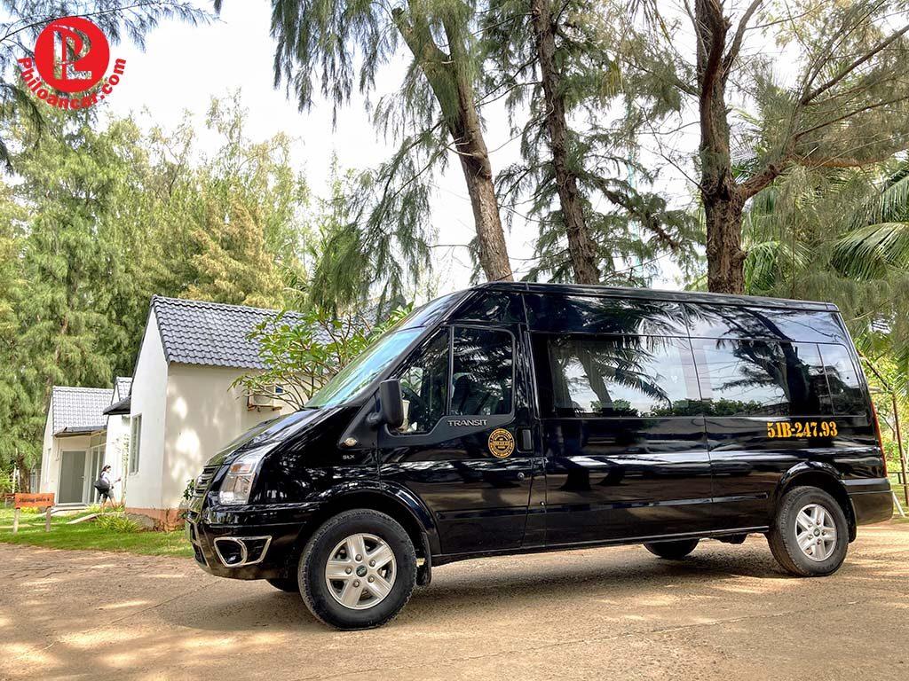 Thuê xe 16 chỗ đi Palace Resort Long Hải tại TPHCM
