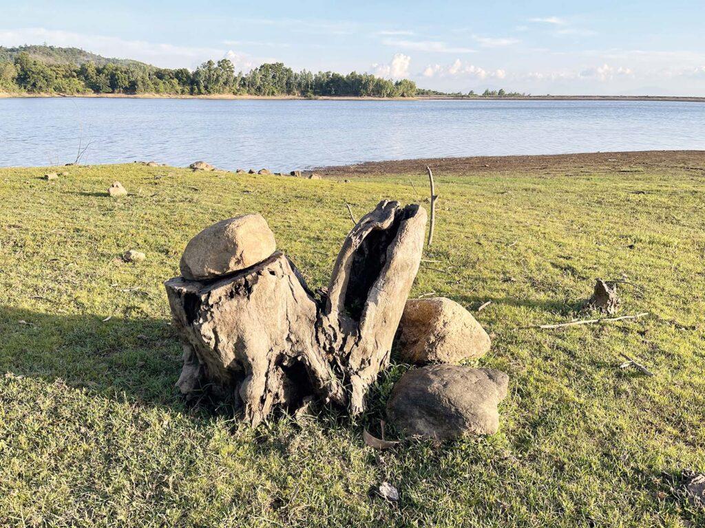Hồ Suối Chay là nơi lý tường những buổi cắm trại dã ngoại ngoài trời
